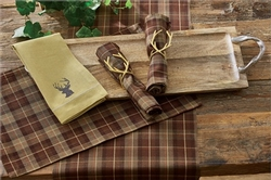 Hampton Plaid Placemat -Set of 4