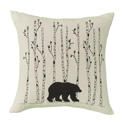 Bear & Birch Pillow - 16