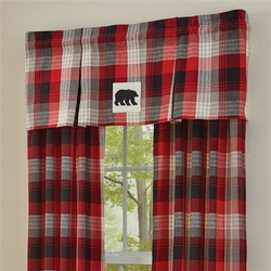 Champlain Lined Pleated Valance - 58