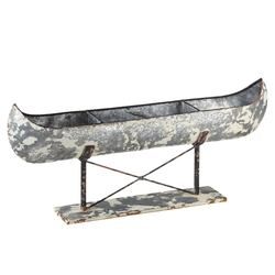 Canoe on Stand Art