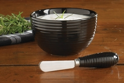 Blackstone Dip Bowl with Spreader