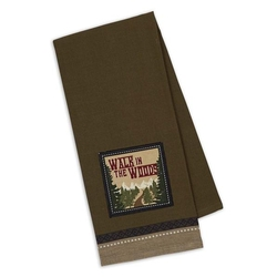 Walk in the Woods Dish Towel
