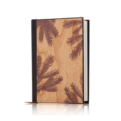 Frasier Fir Wooden Journal
