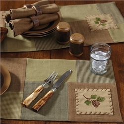Pinecone Placemat